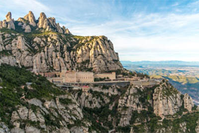 The Catalan Coast and Montserrat at Christmas