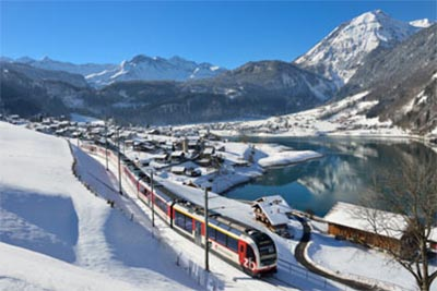 Interlaken & the Jungfrau Express in Winter