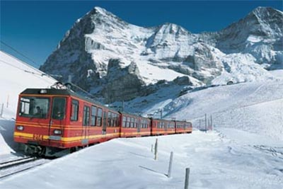Jungfrau Express 5-Star All Inclusive in Winter